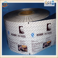 Aluminum foil coffee bag/ automatic packaging laminated roll film