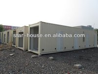 steel structure building modular container house