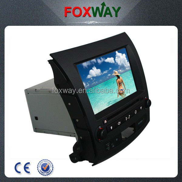 Wholesale 8inch touch screen 2 din car dvd player with car radio/gps/bluetooth for Peugeot 4007