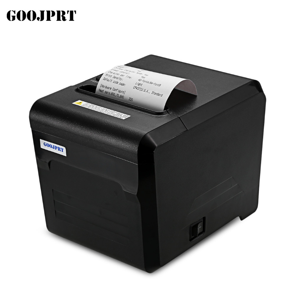 Hot Sale POS 80mm Mini Thermal printer with autocutter / easy paper loading design