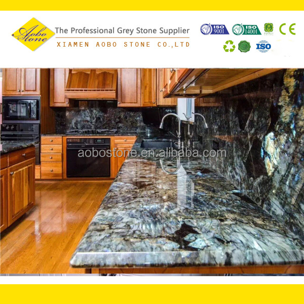 Blue Granite Kitchen Countertop Home Depot Granite
