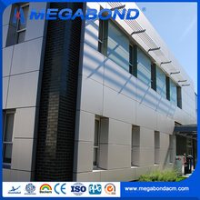 Megabond 3mm 4mm 5mm 6mm aluminum cladding thickness,aluminum wall covering plastic sheet composite panel