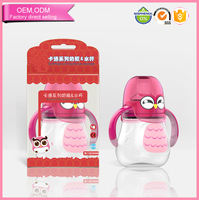 Cartoon Owl New Design Babies Plastic Adult Sippy Cup For Kids