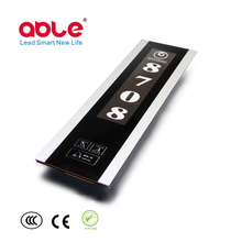 Shenzhen ABLE newest LED light hotel guest room service doorplate