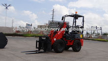 D25/908 mini skid loader bobcat 4x4 hydraulic CE certification mini loader