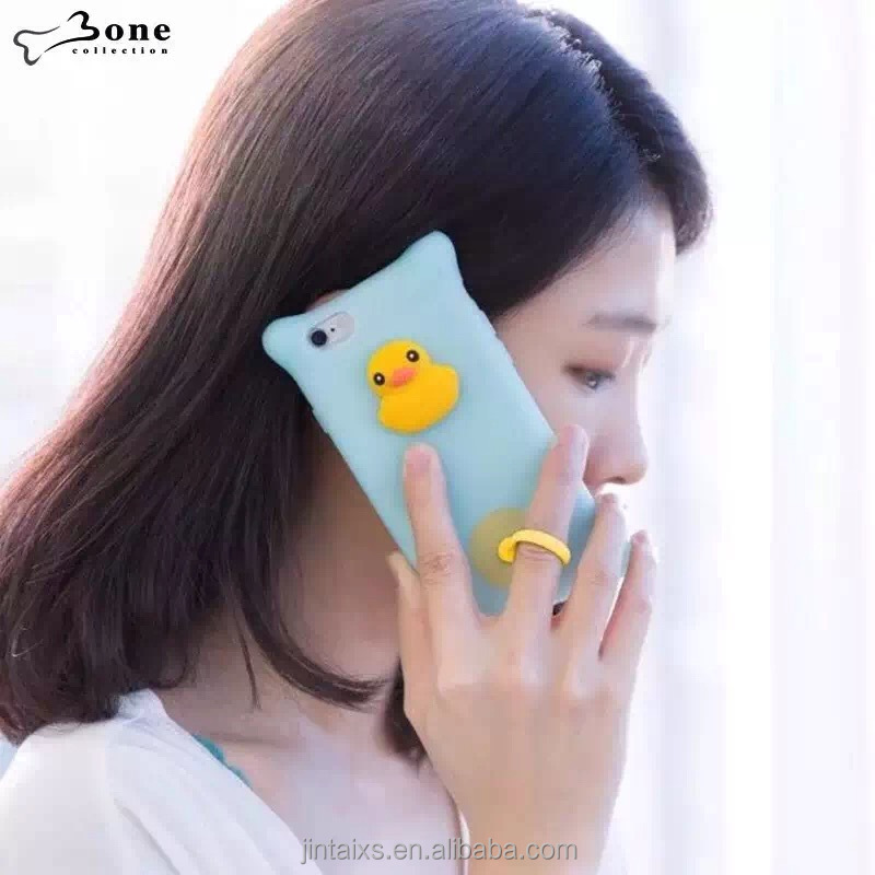 Manufacturer Cartoon Silicone Cell Phone Case ,Eco-friendly hubble-bubble silicone mobile Phone Cover case