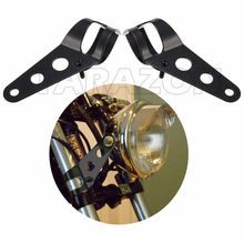 35MM-43MM fork Tubes Clamp Headlight Mounting Brackets For universal Motorcycles