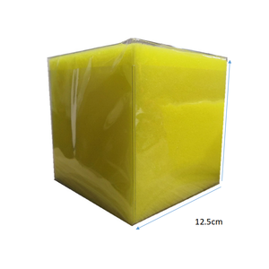 2019 amazon new educational creative toys soft PU foam clear pockets dice sponge cube with digital or card