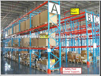 Q235 steel powder coated surface treatment store shelves