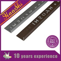 Haoshi brand export quality L shape aluminum table edge protector