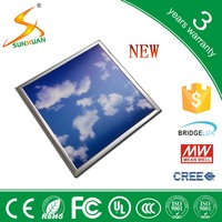Sunlamps new model led sky ceiling light 36w led sky panel lamp 600*600mm
