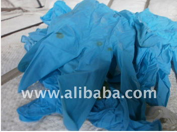 Factory rejected synthetic Latex[nitrile ] scrap such as Gloves,coagulum,Lumps Available for recycling