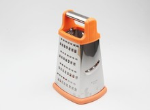 WS-P017 Multi-Box Spiral Plastic Vegetable Grater 4- in-1 Boxed Grater Multi-functional Kitchen Cheese Grater