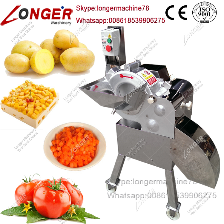 Vegetable Dicer Machine Tomato Vegetable Cube Cutting Machine