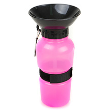 2018 new inventions wholesale 500ml dog travel plastic drinking water fountain/pet water bottle