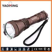 Outdoor hunting equipment T6 rechargeable led torch for long range lighting