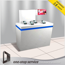 mobile phone shop counter design cell phone accessories display counter