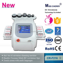 Portable ultrasonic cavitation+RF+ laser slimming machine new direction weight loss products