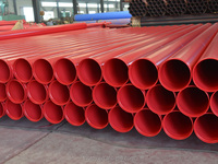 Fire fighting steel plastic composite pipe