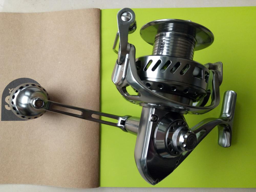 Super Quality Professional 10+1bb Freshwater Big Game 2speed 30 50 80w Fishing Reel
