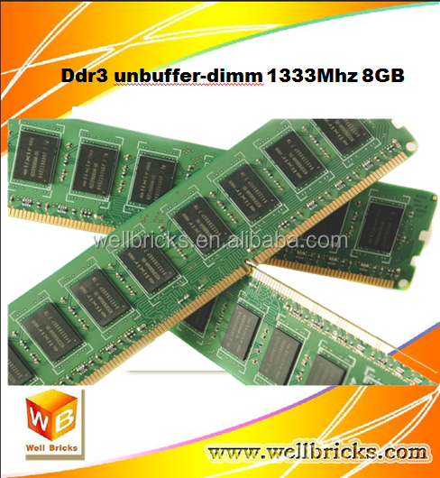 Best selling consumer products wholesale desktop 1333Mhz ddr3 ram 8gb