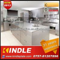 Kindle Custom 100% Exported of Precision Stainless Steel Commercial Kitchen Cabinets Manufacturer ISO9001:2008