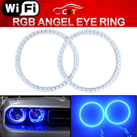 RGB 5050 LED Angel Eye Headlight Halo Ring Kit