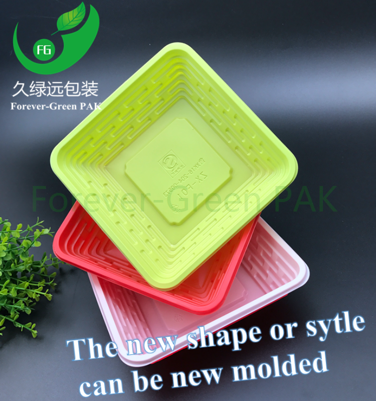 Household plastic food storage container take away pp lunch box 1000ml