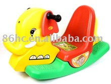 New Kids Plastic Rocking Horse, Adlut Baby Rocking elephant, Baby Plastic Rocking Ride on Animal Toy