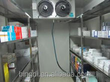pharmaceutical cold room and freezer