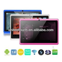 7inch Tablet PC Q8 5 Point Capacitive A13 1.2GHz Camera