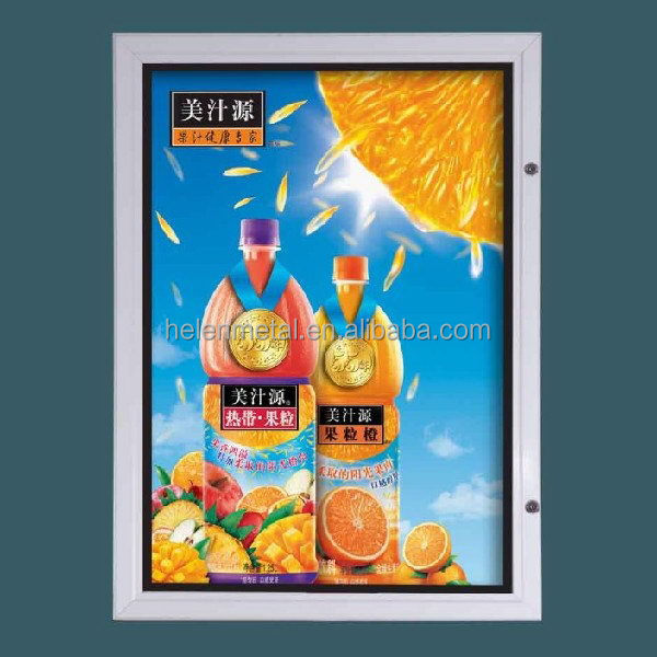 Fashionable competitive super large led slim outdoor light box