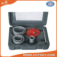 carbide tip cuts stainless steel hole saw set