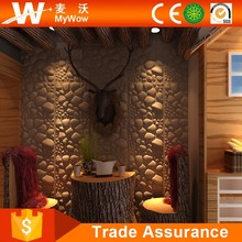 3D Brick Designer Bamboo Wall Paper Decorative Wall Covering Panels