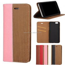 wood flip leather phone case cover with card holder for LG g k aka l f e 10 9 8 7 6 5 4 3 2 1 stylus pro lite 70 80 90 200 455