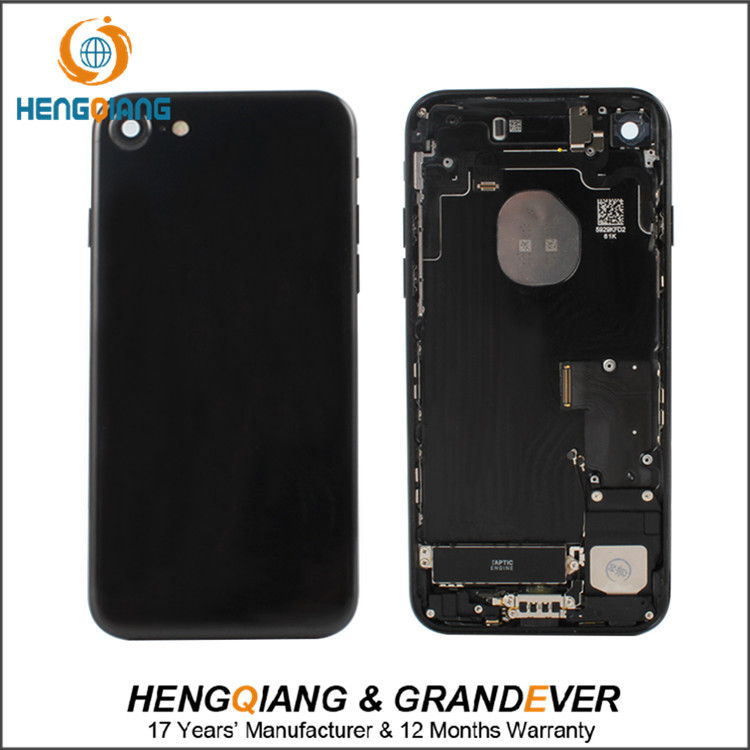 DHL shipping For iPhone 7 Mobile Phone Battery Door Back Cover Housing