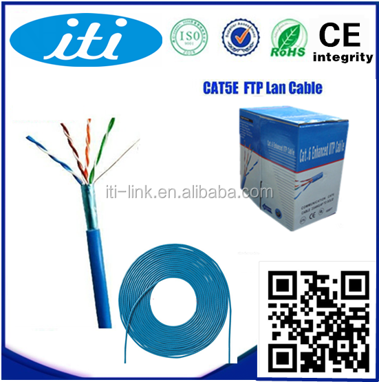 8 Number of Conductors and Cat 6 Type LAN Cable/ Ethernet Cable/ Computer Network Cable CAT5E with Nylon textile