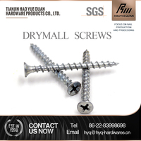 China is07049 blue zinc plating drywall screws thread specification