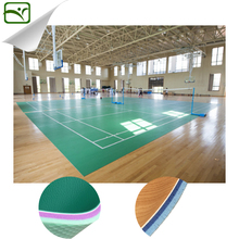 YIMEI wholesale fashion design pvc volleyball court floor/sport flooring