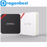 Dragonbest Pendoo X8 pro+ android 6.0 TV BOX install free play store app kodi 16.1 dual wifi Amlogic S905X google tv box