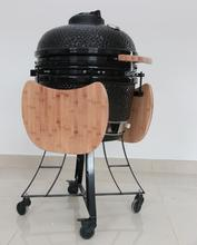 Outdoor Ceramic Grill Smoker and Fire Pit BARBECUE CONTAINER