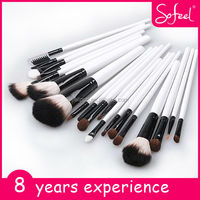 Sofeel high qualtiy white face make up brush set