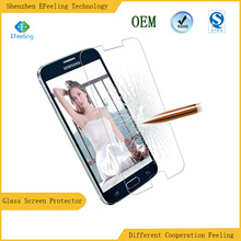 New Material Anti Shock Mobile Phone 0.33MM 9H Premium Tempered Glass For Samsung Galaxy S7