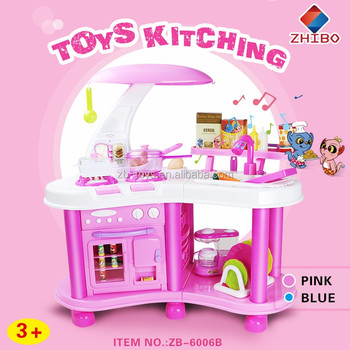 Hot sale toy kitchen sets for kids buy kitchen set for for Kids kitchen set sale