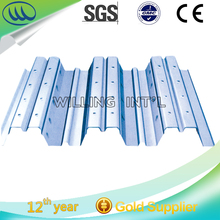 Hangzhou Good Price Zinc coated/Galvanized Steel Floor Decking Sheet/ Plate