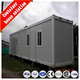 prefabricated mobile cheap and low cost living movable container house container home