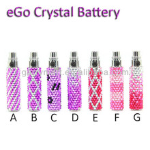 Best ego battery ego diamond crystal battery with available capacity 400/650/900/1100mah from garrymart best ego battery