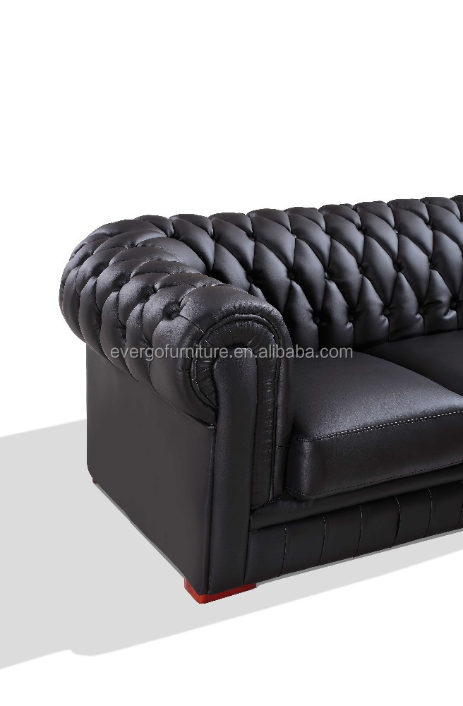 wohnzimmer chesterfield:Corner Leather Chesterfield Sofa
