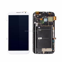 for samsung N7100 note 2 lcd with touch screen digitizer with frame