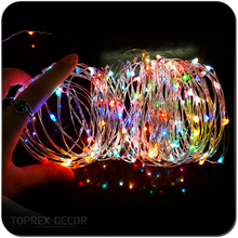 30 LED 3M 9.8ft Outdoor Indoor Light Chain Waterproof Starry String Copper Wire Light